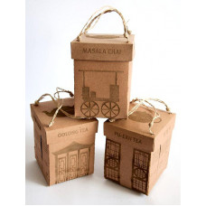 Gift box with hanger