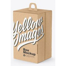 Product box with hanger